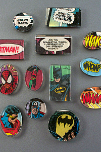 Superhero Magnet Walk-in Craft at The Workspace