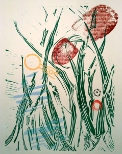 Printmaking with Alexis Dwyer