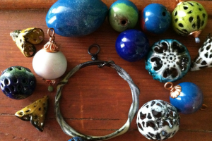 Torch-Fired Enamel Jewelry Class with Rhonda Scott