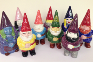Paint Your Own Pottery: Gnome Gang