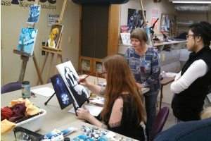 Oil Painting with Sara Merritt at The Workspace