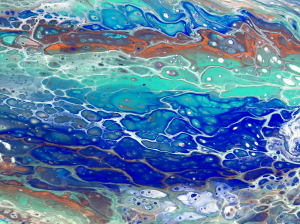 Paint Pours at The Workspace