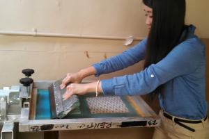 Screen Printing Class with Reed Siems at The Workspace
