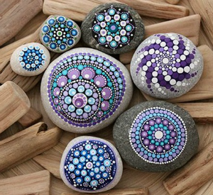Stone Mandala Walk-In Craft