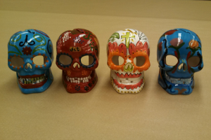 Paint Your Own Pottery: Skulls