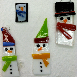 Fused Glass Ornaments Workshop