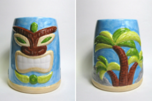 Paint Your Own Pottery Tiki Night